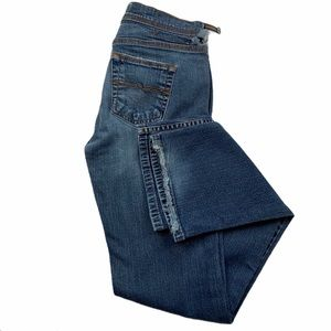 Express Vintage Precision Fit Barely Boot Cut Jean